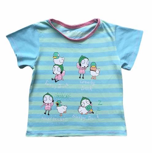 Character.com 3-4 years Sarah and Duck CBeebies T-shirt