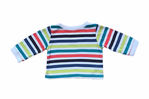 George 3-6 months Striped Long Sleeve Top