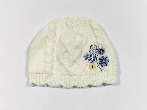 Nutmeg 6-12 months Cream Winter Hat