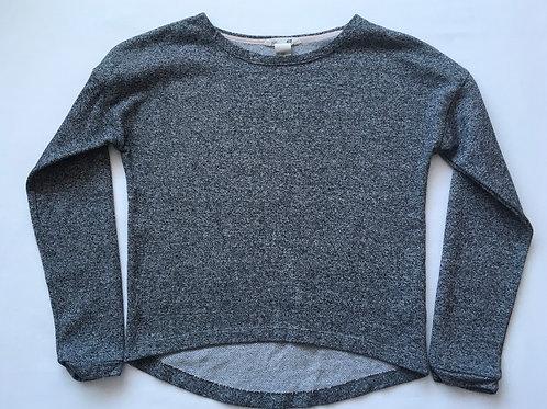 H&M 8-10 years Grey Long Sleeve Top