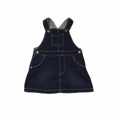 M&S 3-6 months Denim Pinafore Dress