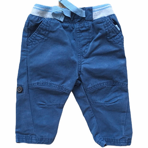 M&Co. 3-6 months Navy Trousers - PLAYWEAR