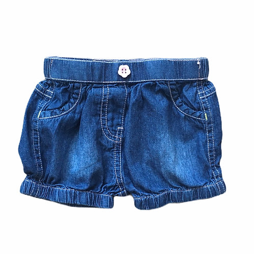 Nutmeg 3-6 months Denim Shorts