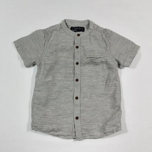 Next 2-3 years Collarless Short Sleeve Shirt