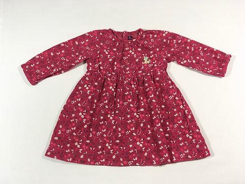 Sergent Major 9-12 months Pink Cord Long Sleeve Unicorn Dress