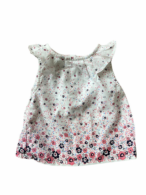 Primark 3-6 months Floral Sleeveless Top