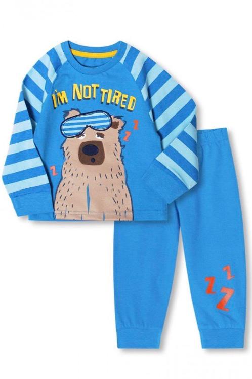Dunnes 6-12 months 'I'm Not Tired' Bear Pyjamas - BRAND NEW