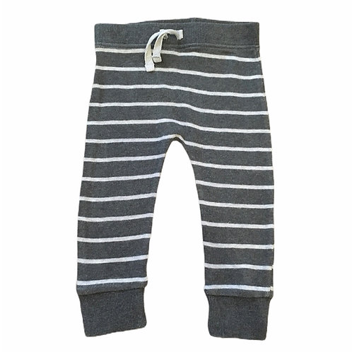 George 6-9 months Grey Striped Joggers