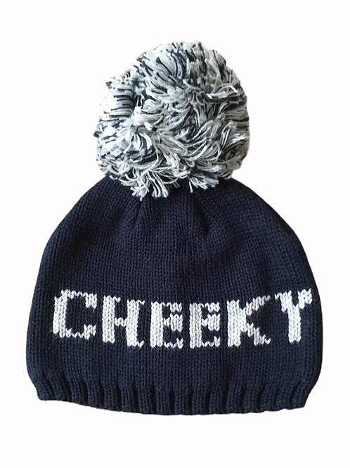 F&F Up to 1 month Cheeky Knitted Hat