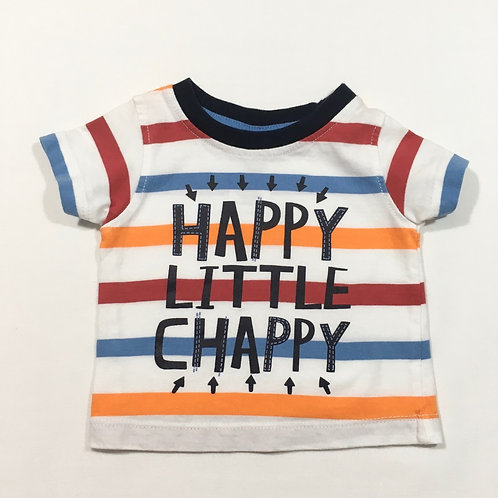 Peacocks 3-6 months 'Happy Little Chappy' T-shirt