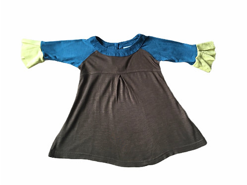 Next 9-12 months Brown, Yellow and Turquoise Lightweight Top