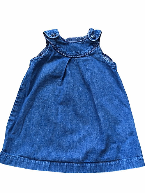 H&M 1.5-2 years Denim Pinafore Dress
