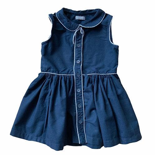 Next 1.5-2 years Navy Sleeveless Dress