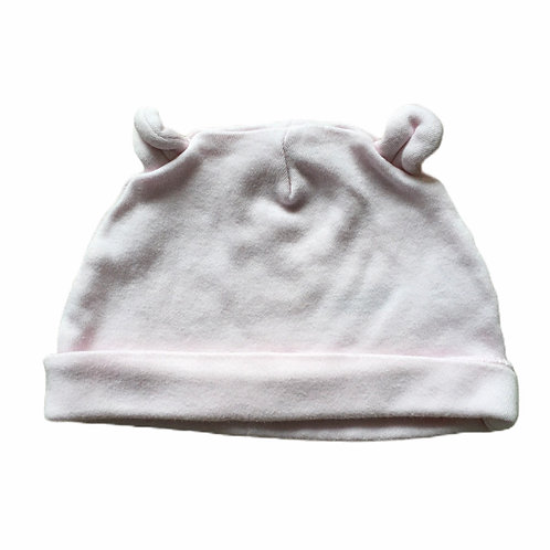 Nutmeg 0-3 months Baby Pink Hat