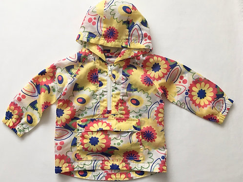 M&S 12-18 months Floral Lightweight Showerproof Pac-a-Mac Coat
