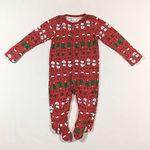 M&Co. 6-9 months Christmas Sleepsuit