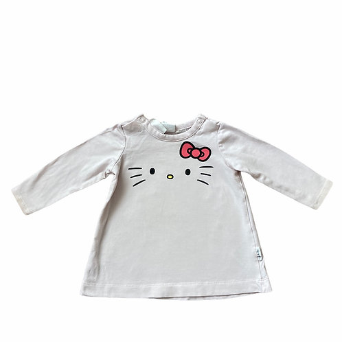 H&M 2-4 months Pale Pink Hello Kitty Long Sleeve Top
