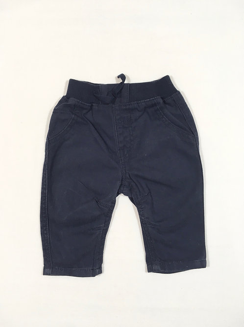 George 0-3 months Navy Lightweight Trousers
