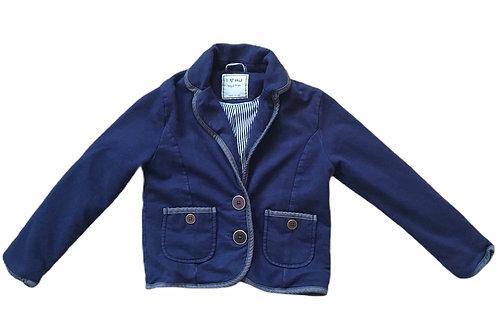 Next 7 years 100% Cotton Navy Blazer Jacket