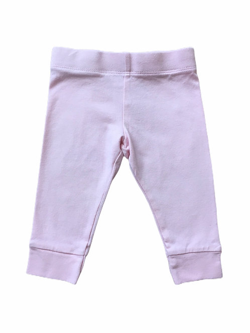 F&F 3-6 months Baby Pink Bow Leggings