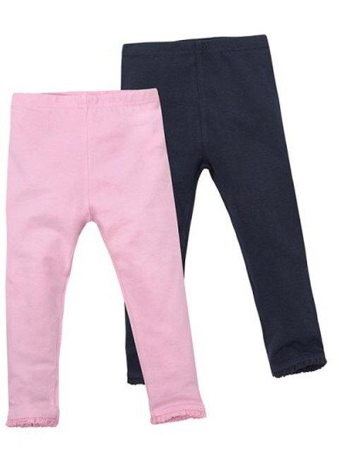 Mini Kidz 3-4 years 2 pack of Leggings Pink/Navy - BRAND NEW