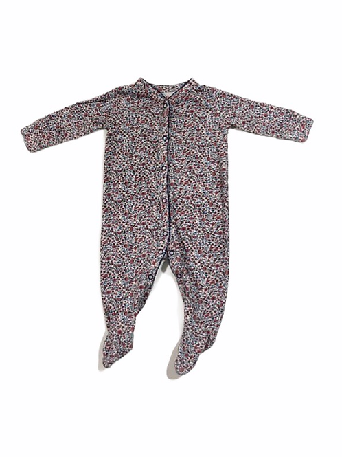 Next 3-6 months Floral Sleepsuit