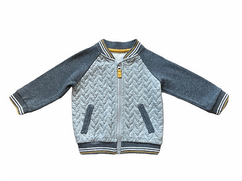 TU 6-9 months Grey Zip Up Lightweight Jacket