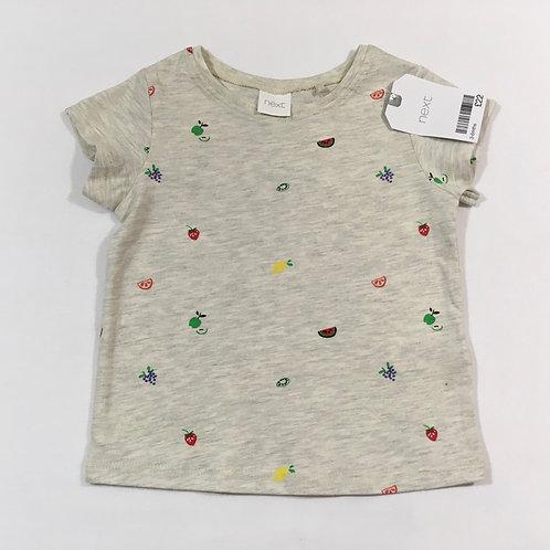 Next 3-6 months Fruit T-shirt - BRAND NEW