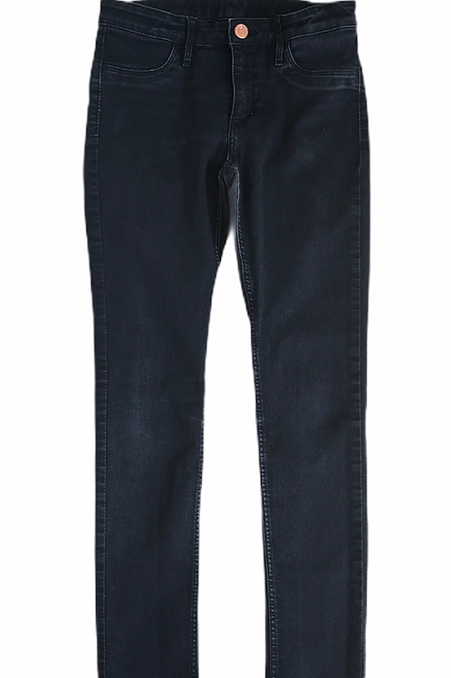H&M 10-11 years Black Denim Skinny Jeana
