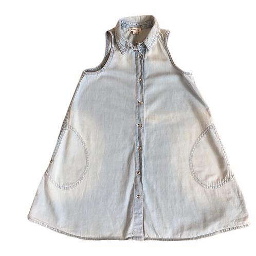 River Island 7 years Sleeveless A-line Lightweight Denim Dress