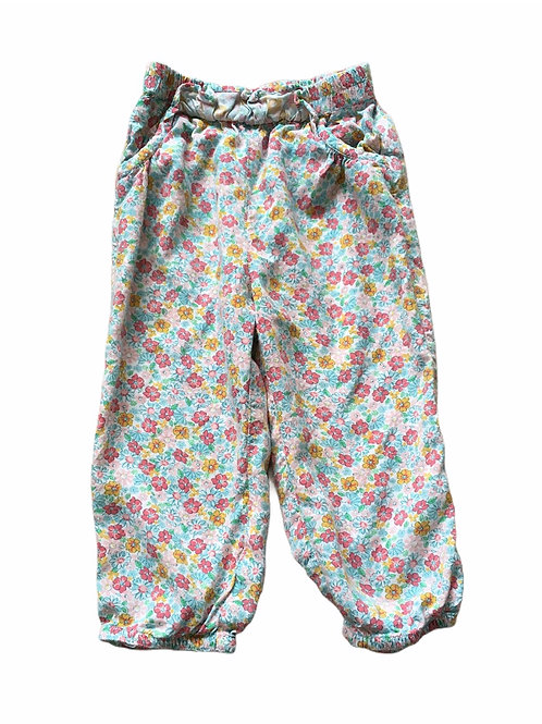 M&Co. 12-18 months Lightweight Floral Trousers