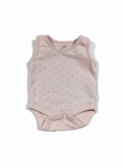 Next First Size Baby Pink Sleeveless Bodysuit