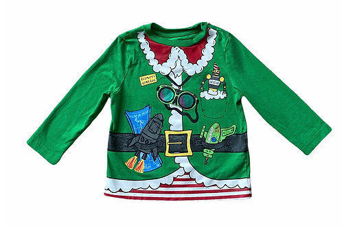 F&F 18-24 months Long Sleeve Christmas Top