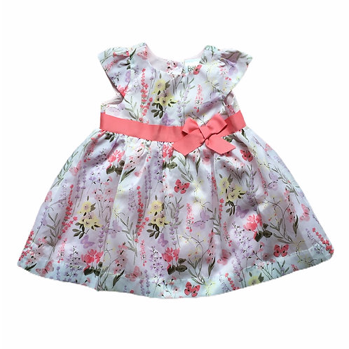 Peacocks 6-9 months Floral Dress