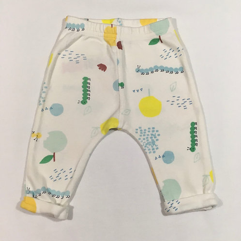 M&S 3-6 months Cream Animal Leggings