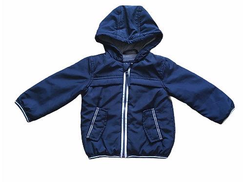 George 6-9 months Navy Hooded Coat