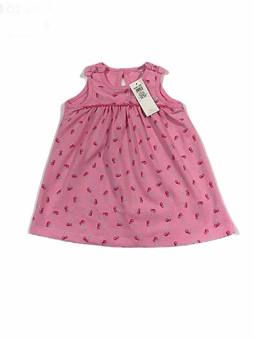 M&Co. 3-6 months Cherry Dress - BRAND NEW