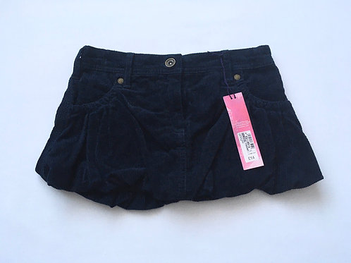 Indigo at M&S 7 years Navy Cord Mini Skirt - BRAND NEW