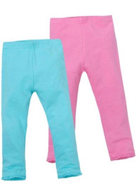 Mini Kidz 4-5 years 2 pack of Leggings Pink/Turquoise - BRAND NEW