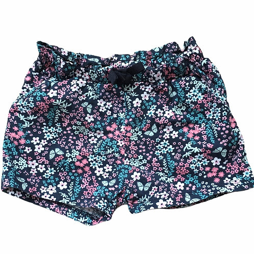 H&M 1.5-2 years Floral Shorts