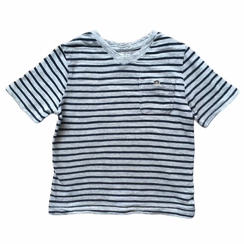 Baby Gap 3 years Grey and Navy Striped T-shirt