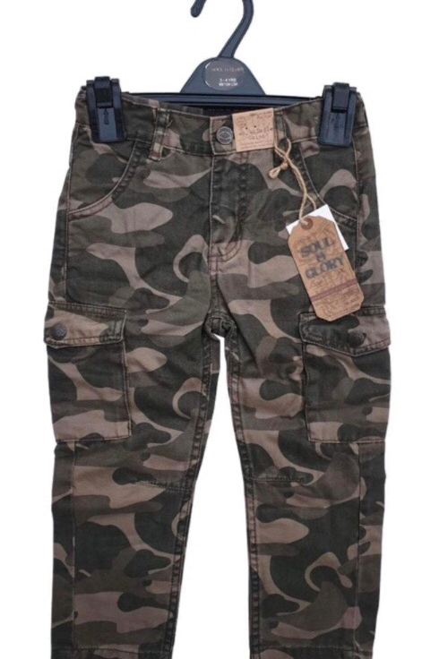 Soul and Glory 4-5 years Combat Cargo Trousers - BRAND NEW