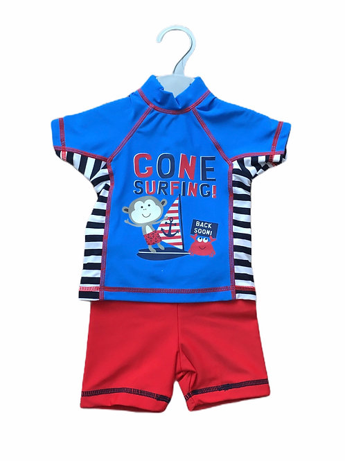 Ex Chain Store 9-12 months UV Swim Suit 2 Piece Set – BRAND NEW
