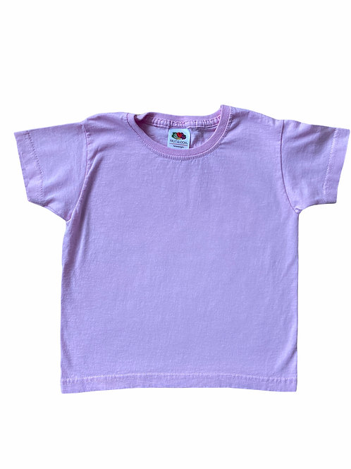 Fruit of the Loom 2-3 years Baby Pink T-Shirt