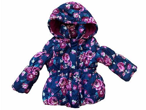 TU 1.5-2 years Floral Padded Coat
