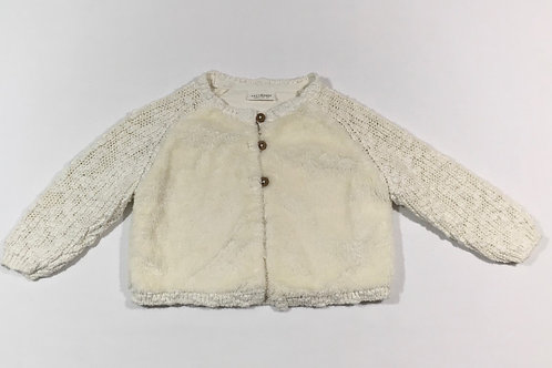 Next 6-9 months Cream Cardigan