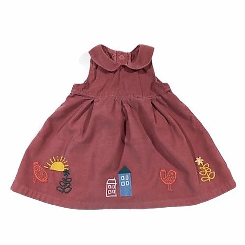 M&S 0-3 months Cord Dress