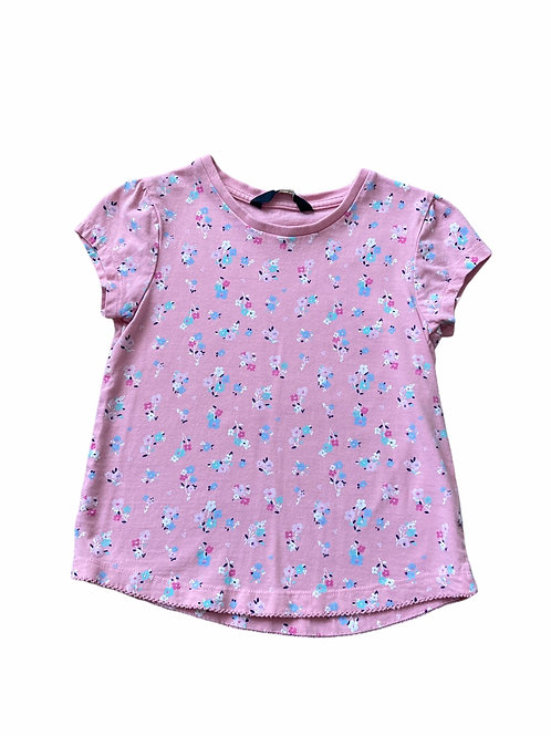 George 4-5 years Pink Floral T-Shirt