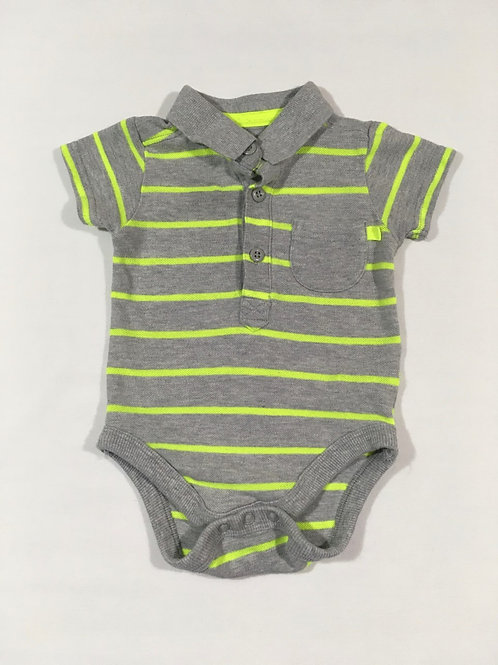 George 6-9 months Short Sleeve Bodysuit
