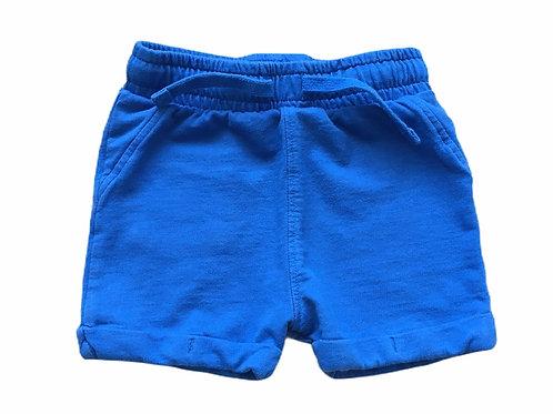 M&S 6-9 months 100% Cotton Blue Shorts
